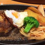 ステーキ宮 - ☆ハンバーグ☆目玉焼きトッピング