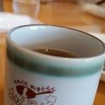 ごはん屋さん - 15.08.17:冷たいお茶