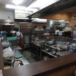 砂丘そば - 厨房