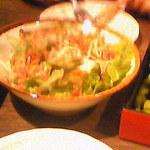 名古屋名物 名古屋丸八食堂 - 枝豆・さきいか・桜海老の香味サラダ
