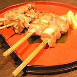 名古屋名物 名古屋丸八食堂 - 串焼き盛り合わせ