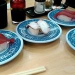 無添くら寿司 - 熟成マグロとタコ