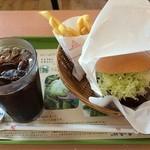 モスバーガー - 料理写真:ロースカツでポテトS,アイスコーヒーのセット ¥790
