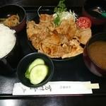 芳味亭 - 焼肉定食