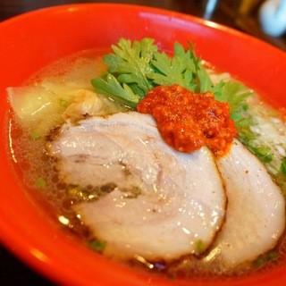 本丸亭 - 料理写真:赤丸塩ら~麺