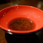 エビ殻荘 - 味噌汁(サービス)