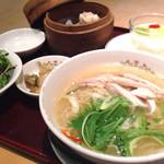 中国料理 杏花 - 杏セット(1080円)