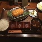 ゲンカツ - ゲンカツ膳