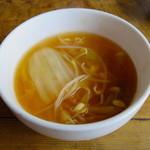 韓国家庭料理 青山 - スープ