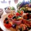 リリーベリー - 料理写真:有機野菜たっぷり使ったおばんざいセットランチ 1080円