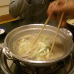 池田 銀なべ - 料理写真:どて鍋