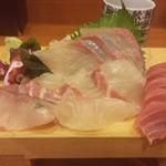 亀八寿し - 造りB定食