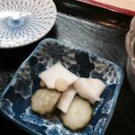 秋刀魚 - 香の物