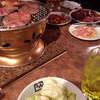 牛角 - 料理写真:焼肉焼いてます!