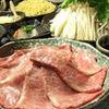 りん - 料理写真:サーロインしゃぶしゃぶコース。特選黒毛和牛を贅沢に!