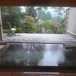料亭旅館 いちい亭 - 大浴場 窓が全部開きます