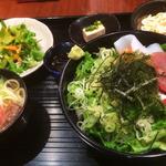 あーぐうる - 海ぶどう丼セット(2015/7月撮影)