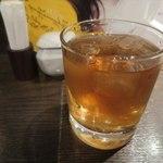 牡蠣屋うらら - 麦茶_2015/08