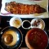 山美世 - 料理写真:特上蒲焼膳。第一膳