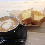 コーヒースタンド28 - 料理写真:モーニング フレンチトースト