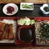 八千代 - 料理写真:そば鰻丼、1250円です。