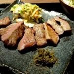 福島にし屋 - 白菜浅漬け&南蛮味噌 仙台牛タンと同じ!