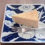 41086790 - チーズケーキとコーヒーのセット