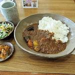 カフェ大好き - 野菜カレー(700円)
