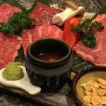 焼肉ハウス バリバリ - 贅沢~な和牛盛り♪