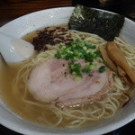 らーめん 麺の月 - 塩ら〜麺・大盛り