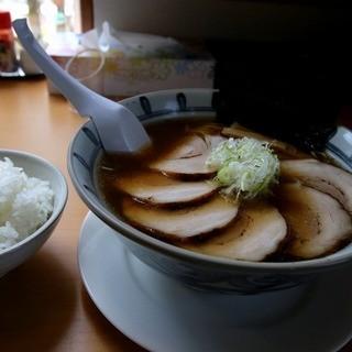 らぁ麺屋まるみ - 料理写真:撮影ミス_醤油チャーシュー