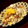 晩杯屋 - 料理写真:150円『長崎 アジのたたき』2015年8月吉日