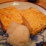 三合菴 - 玉子焼き(出汁巻) (730円)