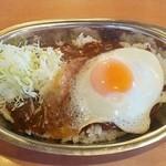 ターバンカレー - 料理写真:ターバンカレー@須坂インター店(長野) 目玉焼きカレー