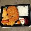 ほのぼの亭 - 料理写真:イカフライ弁当+メンチカツ