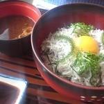 海宝 - 料理写真:釜あげしらす丼