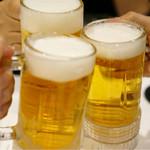 ラ・フェット ひらまつ - トルネードビールで乾杯!