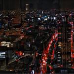 ラ・フェット ひらまつ - 37階からの夜景