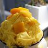 カズノリ イケダ アンディヴィデュエル - 料理写真:まるごとマンゴー かき氷