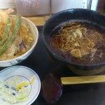 ウエスト - 天丼・そばセット