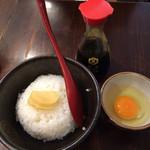 麺屋 つくし - 卵かけごはん