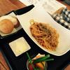 日光くじら食堂 - 料理写真:8月特別仕様の至福のナポリタンです、パンは別注文!
