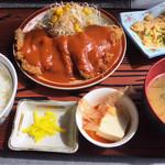 神戸食堂 - ビフカツ定食