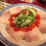 南昌飯店 - バラ肉辛味ソース