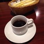 小松屋 - 食後ホットコーヒーはデミ