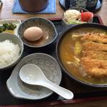 ちとせ - カツカレーうどん定食