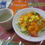 41213140 - スープ&サラダ♪