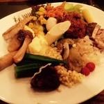 バルバッコア - 野菜ビュッフェで摂り過ぎあるある!