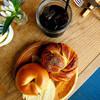 自由が丘ベイクショップ - 料理写真:プレーンベーグル&シナモンロール