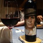 朱藏 - ■赤ワインのボトル